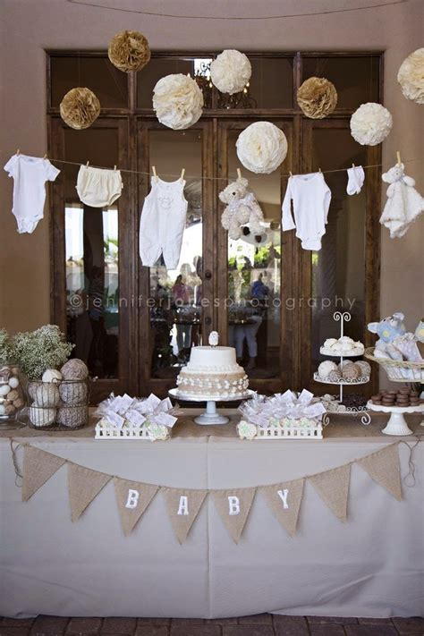 Neutral Baby Shower Themes by Nat Your Average Neutral Baby Shower Ideas