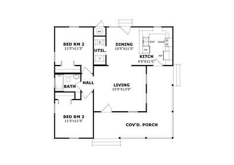 house build plans willow bend 5218 2 bedrooms and 1 5 baths the house