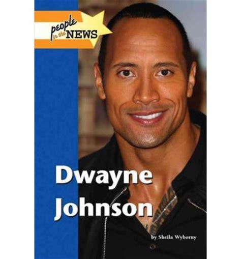 dwayne the rock johnson biography book dwayne johnson sheila wyborny 9781420501254