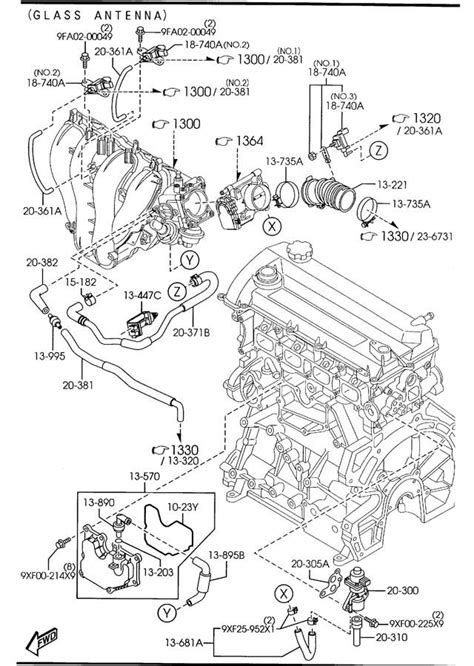 2003 mazda 6 purge valve 2003 2004 2005 mazda6 purge valve oem new ebay