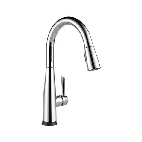 delta touch2o kitchen faucet 9113t dst essa single handle pull kitchen faucet with