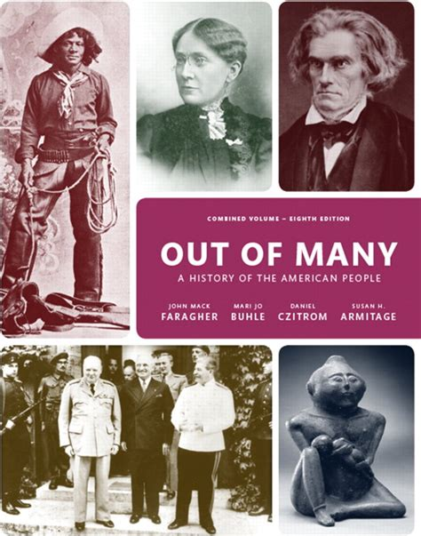 out of many volume 1 8th edition faragher buhle czitrom armitage out of many combined
