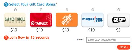 How To Get Cashback From Target Gift Card - ebates free 10 gift card to barnes noble target home