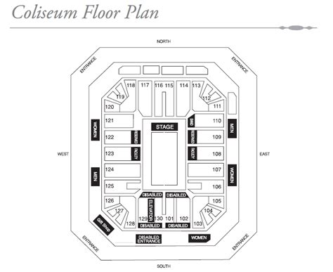 nassau coliseum floor plan coliseum floor plan arena residence apartment penang mk