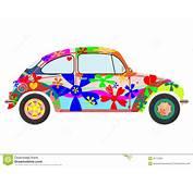 Colorfur Retro Hippie Car Stock Photos  Image 31713223