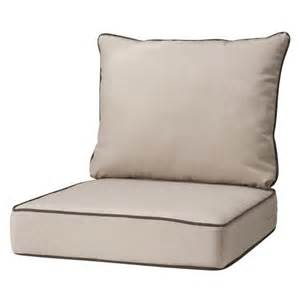 Patio Chair Replacement Cushions Rolston 2 Outdoor Seat Back Replacement Target
