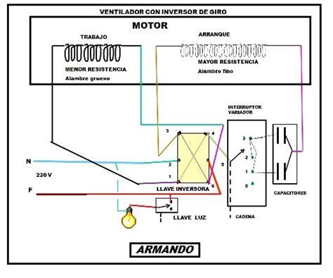 solucionado diagrama de conexi 242 n de un ventilador yoreparo