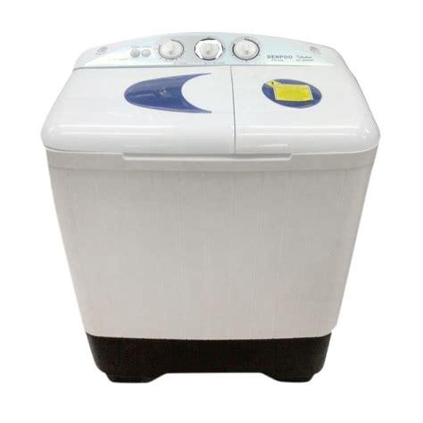 Mesin Cuci 2 Tabung Denpoo jual denpoo dw828 putih mesin cuci harga