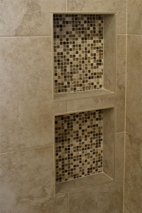 Shower Cubby Holes by Built In Shower Shelves Homesfeed