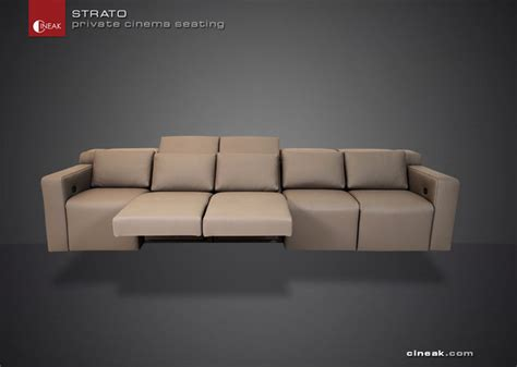 theater seating sectional sofa   por theater