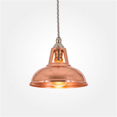 Copper Pendant Lights Coolicon Industrial Copper Pendant Light Artifact Lighting