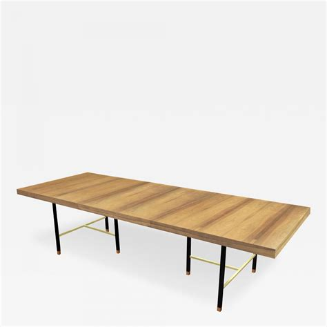 harvey probber dining table harvey probber extension dining table in bleached