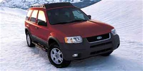 2004 Ford Escape Recalls by 2001 2004 Ford Escape Recalled For Rust
