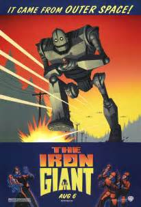 Toaster Cartoon Movie The Geeky Nerfherder Movie Poster Art The Iron Giant 1999