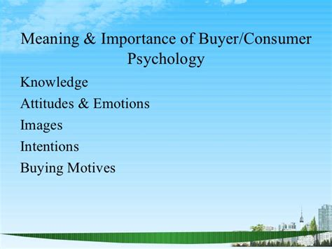 Mba Ppt On Consumer Behaviour by Consumer Behaviour2 Ppt Bec Doms 2009 Bagalkot Mba