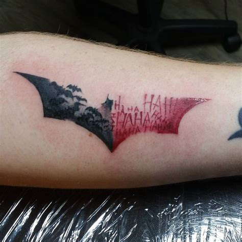 dark sign tattoo 100 best batman symbol ideas comic 2018