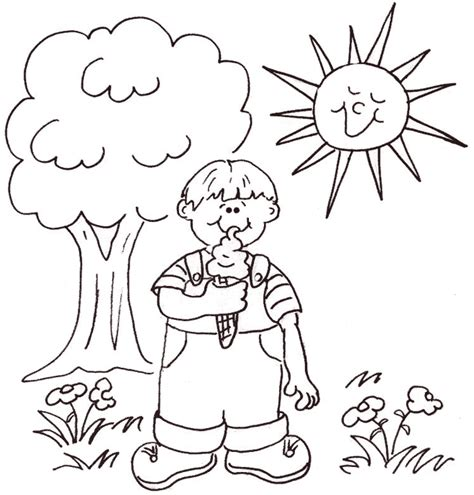 coloring pages sunny weather coloring pages for weather 36 best coloring pages images