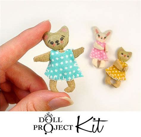 animal doll kit 17 best images about teeny tiny and adorable on