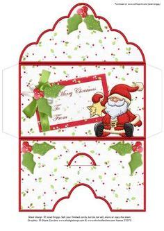 Free Printable Christmas Gift Card Holders - 6 best images of printable christmas money envelopes free printable christmas money