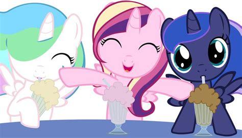 my little pony princess luna and celestia babies princess celestia cadence and luna mlp fim pinterest