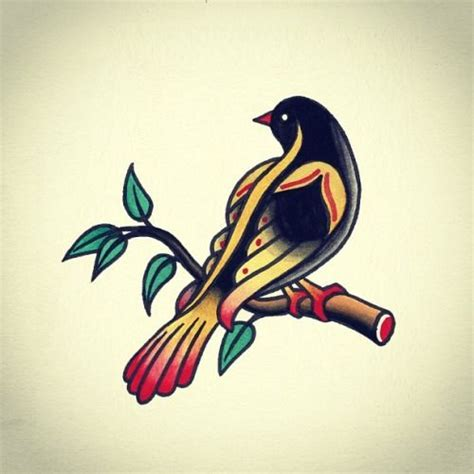 old school bird tattoo designs best 25 school designs ideas on