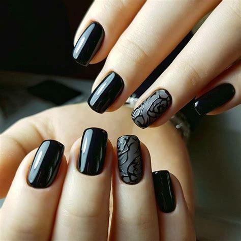 decorazione unghie fiori 64 best unghie gel nere images on