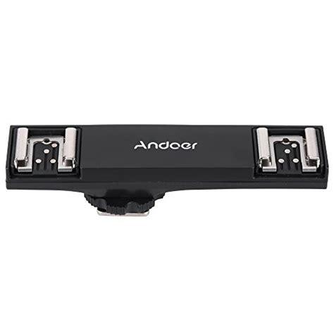 Andoer Dual Shoebracket Splitter For Nikon D750 D7200 D7100 D7000 andoer 174 dual shoe flash speedlite bracket splitter for nikon d750 d7200 d7100 d7000 d800