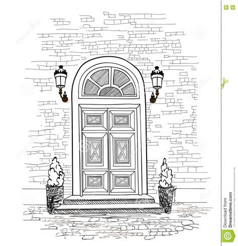 door to door lines apartment exterior coloring pages
