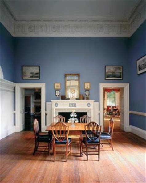 Dining Room Blue Paint Colors by The Devoted Classicist Historic Paint Color At Monticello