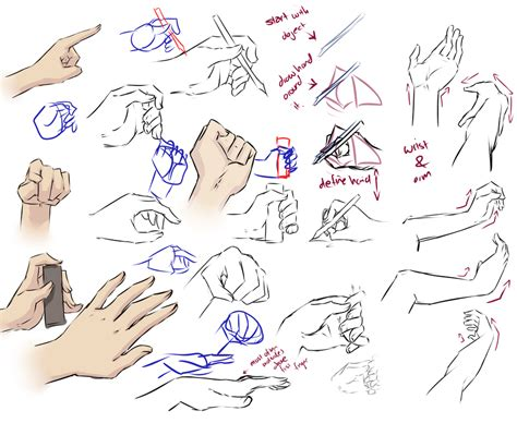 how to draw hands 35 tutorials how tos step by steps more hand tips by moni158 on deviantart
