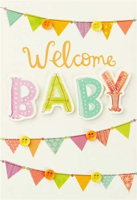 Welcome New Baby Card   Greeting Cards   Hallmark