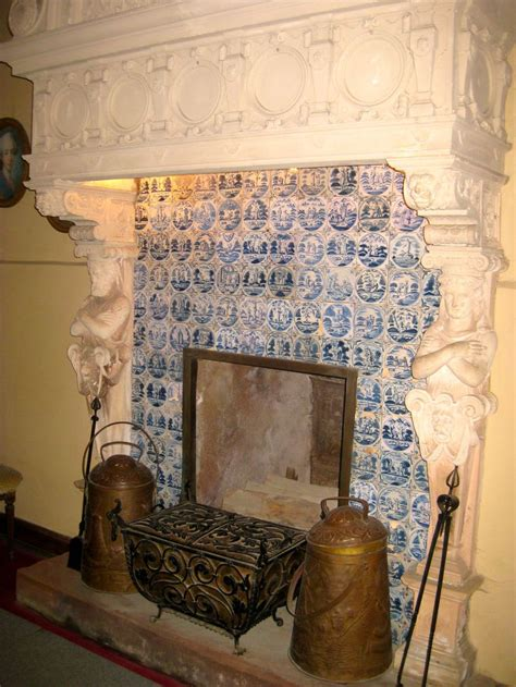 patterned fireplace tiles love the patterned tiles and fabulous carved surround