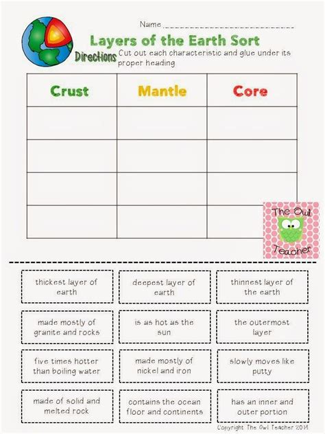 Earth Science Worksheets by Free 11th Grade Earth Science Worksheets Free Science