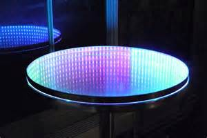 Infinity Table Infinity Mirror And Table With Casual Tools 7 Steps