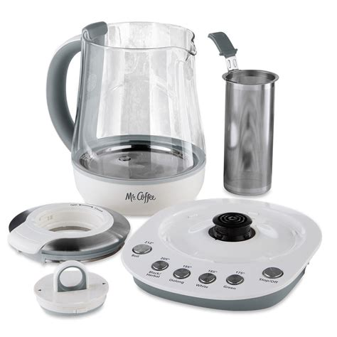 Coffee And Tea Maker mr coffee 174 tea maker and kettle white