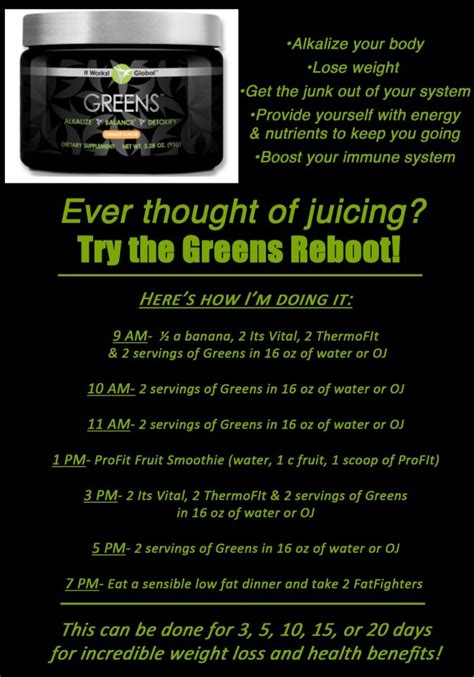 It Works 90 Day Greens Detox by Lutzyslather