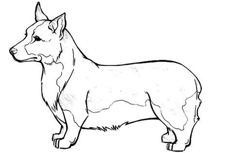 pembroke welsh corgi coloring page super coloring dog