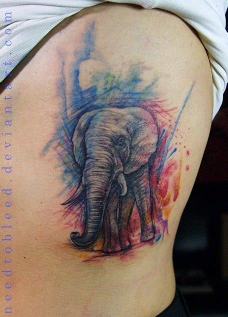 tattoo elephant color the powerful meaning of elephant tattoos 171 tattoo articles