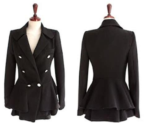 desain jas wanita terbaru desain jas untuk wanita 15 contoh model blazer wanita