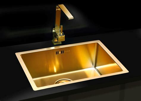 Bronze Kitchen Sinks Bronze Brass Finish Kitchen Sink Stainless Steel Flushmount Alveus Monarch Quadrix 50 Bronze