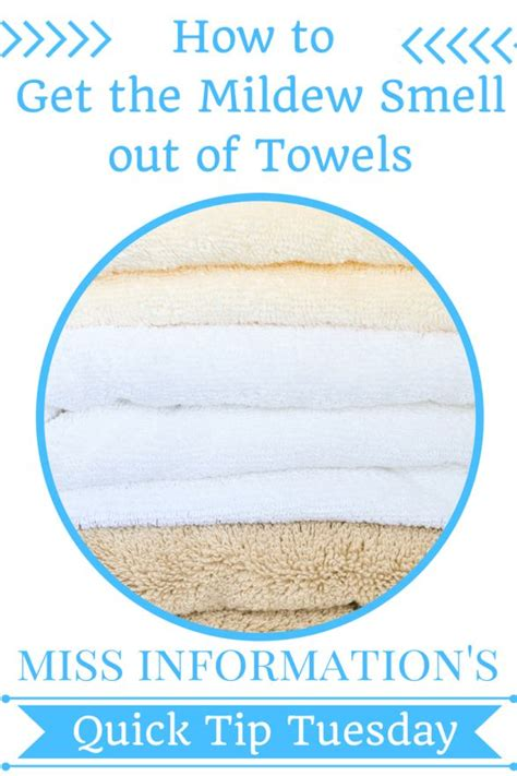 get the mildew smell out of laundry
