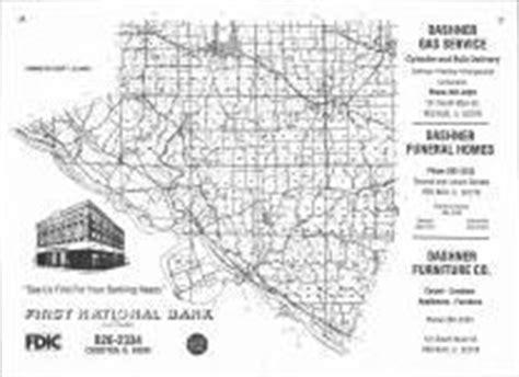 Randolph County Illinois Property Records Index Map Atlas Randolph County 1978 Illinois Historical Map