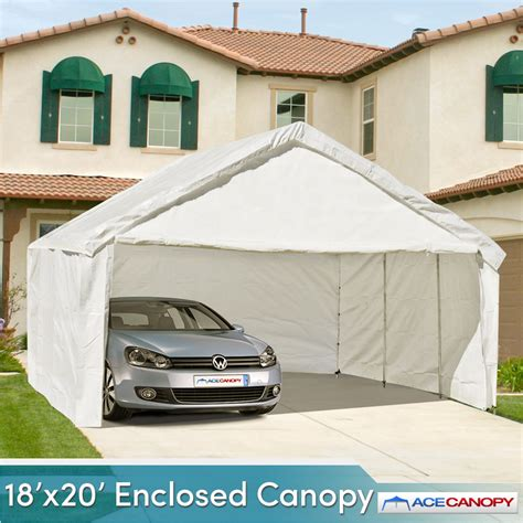 Enclosed Canopy Enclosed Canopy 18x20