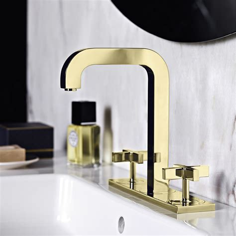 Bath Shower Mixer gold taps and bespoke finishes for the bathrooms