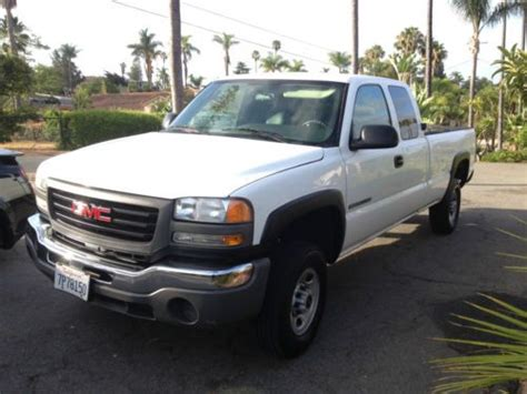 how does cars work 2004 gmc sierra 2500 transmission control purchase used 2004 gmc sierra 2500 hd wt extended cab pickup 4 door 6 0l in vista california