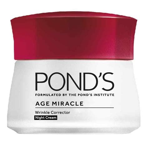 Pond S Age Miracle Wrinkle Corrector 50g Murah pond s age miracle retinol c wrinkle corrector