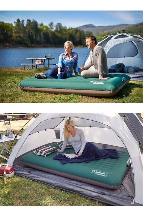 Eco Friendly Air Mattress by Rest Comfortably Anywhere With The Lightspeed Outdoors