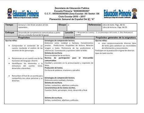 Planeaciones Sep Primaria 2016 Gratis Pdf | planeaciones del cuarto grado del cuarto bloque ciclo