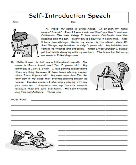 Self Introductory Speech 28 Images Self Introduction Speech 36 Introduction Speech Exles Self Introduction Speech Sle