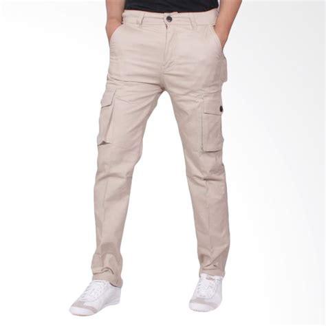 Celana Pendek Blackstar Creme jual leif jenkins celana cargo panjang